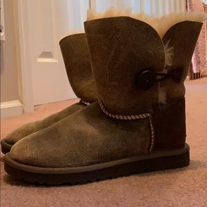 Ugg Australia size us 7 weathered brown boot